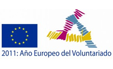 logotipo del año europeo del voluntariado